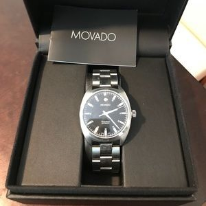 Movado Datron Mens Automatic SS Professional